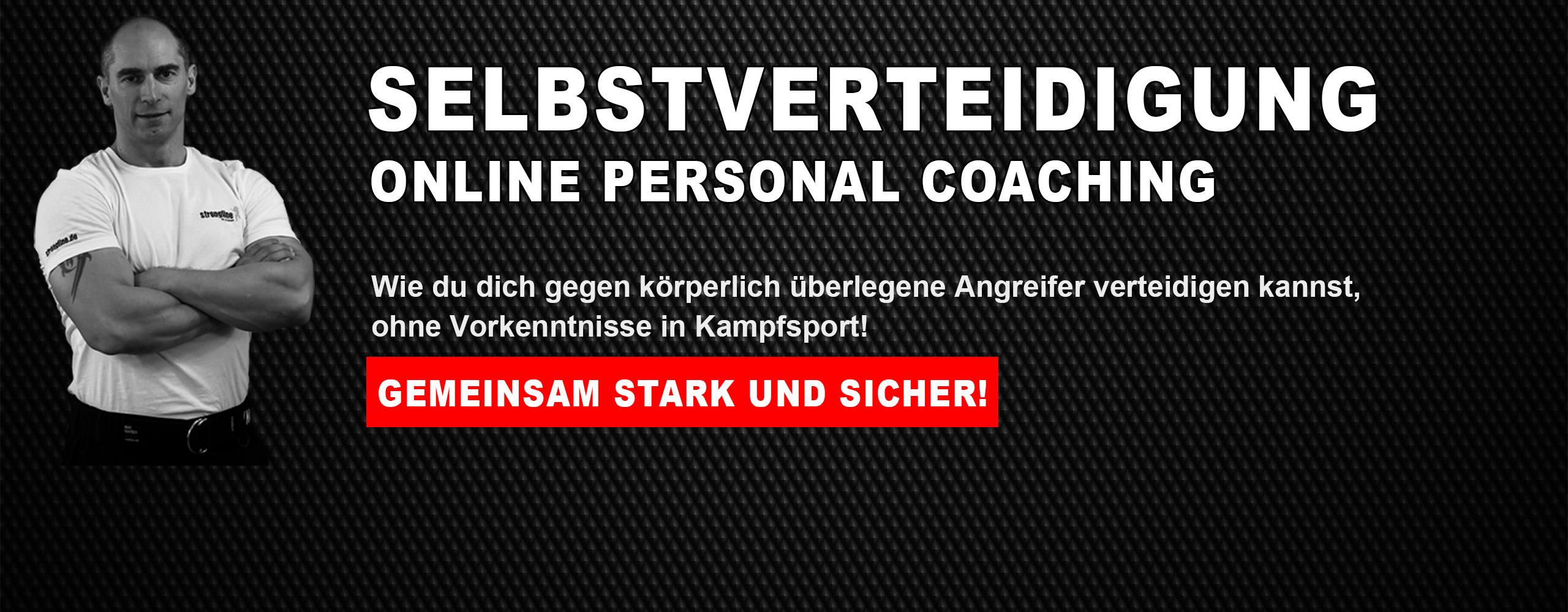 Online Coaching für Selbstverteidigung
